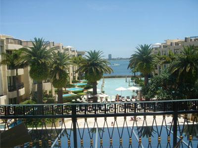View from Palazzo Versace