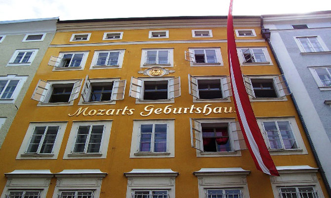 Mozart Birth Place