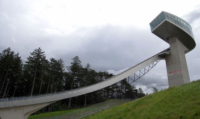 The New Bergisel Ski Jump