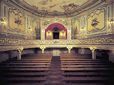 Auditorium of the Baroque Theatre