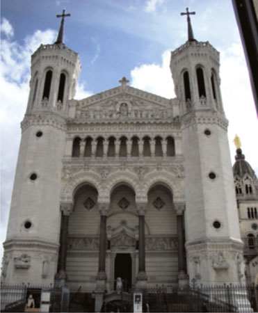 The Fourvière Basillica