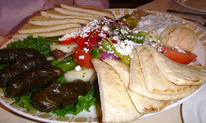 Greek Appetizer Plate