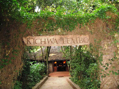 The Kichwa Tembo Camp