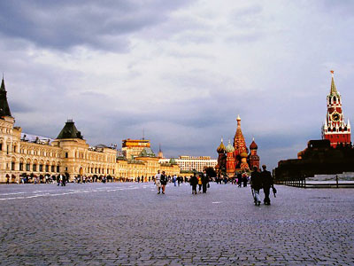 Kremlin and the Red Square Moscow