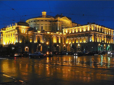 World famous Marinskij Opera House
